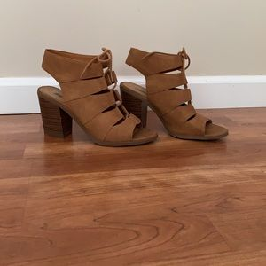 SODA Strappy Heels
